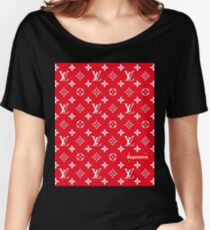 Louis Vuitton Supreme Women's Relaxed Fit T-Shirt