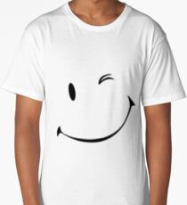 Winky face Long T-Shirt
