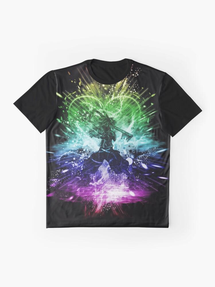 Alternative Ansicht von Königreich Sturm-Regenbogen-Version Grafik T-Shirt