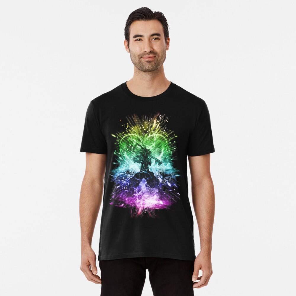 Königreich Sturm-Regenbogen-Version Premium T-Shirt