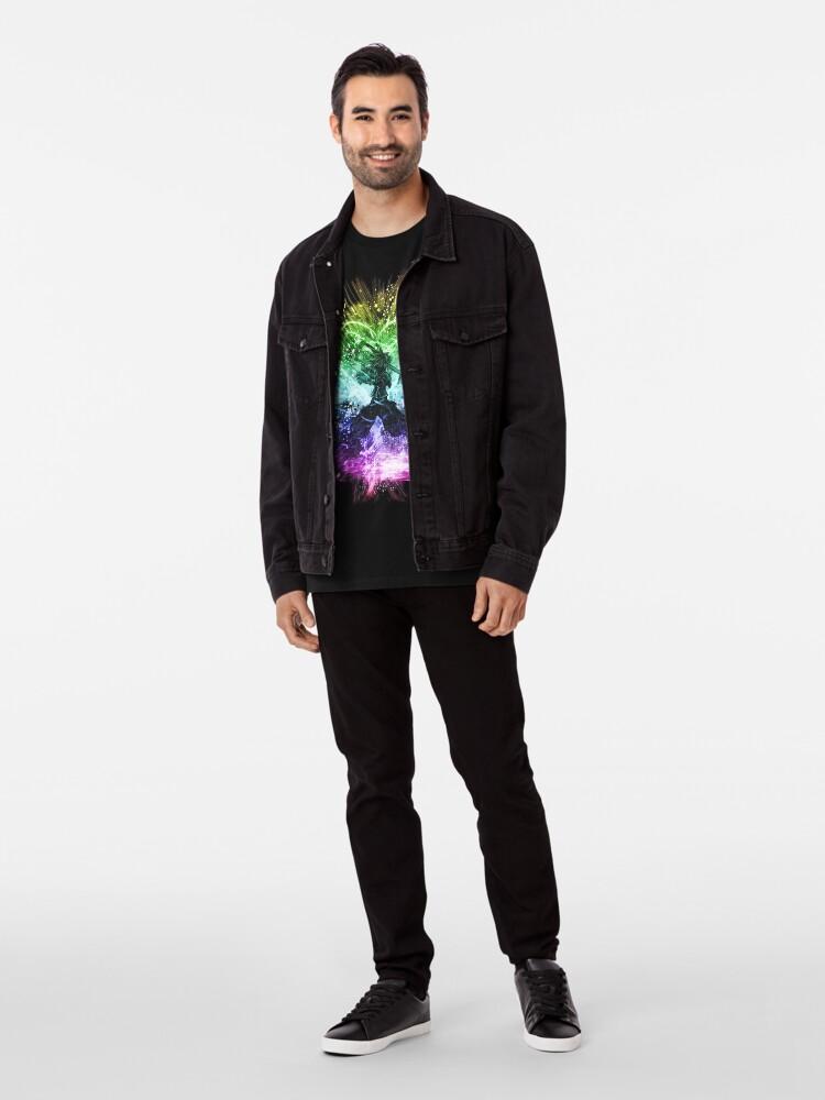 Alternative Ansicht von Königreich Sturm-Regenbogen-Version Premium T-Shirt