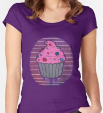 Cup Cake Women's Fitted Scoop T-Shirt