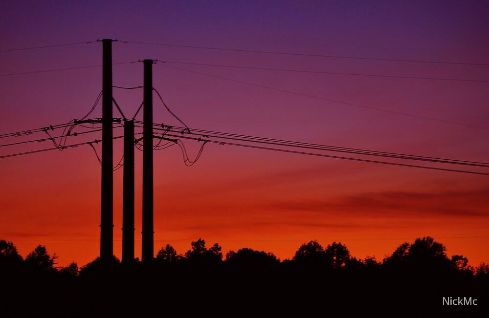 Power Sunset by NickMc