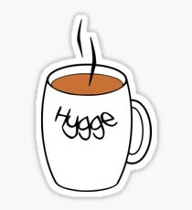 Hygge, Hot Cocoa Sticker
