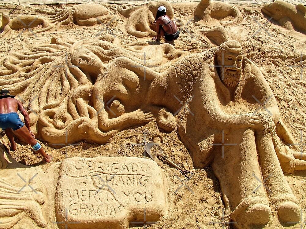 Sand Sculptures by Tom Gomez