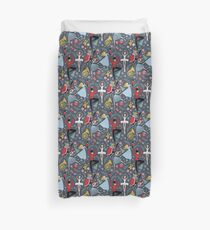 Clara's Nutcracker Ballet repeat by Robin Pickens Duvet Cover