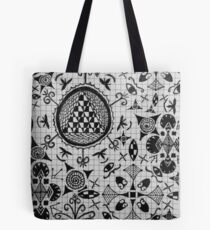 Miscellaneous Tote Bag