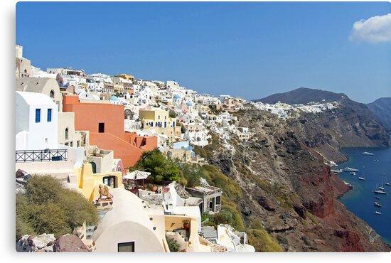 Oia, Santorini, Greece by Tom Gomez