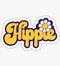 Hippie Sticker