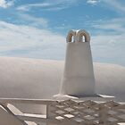 Santorini Chimney by Marylou Badeaux