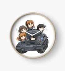 Girls Und Panzer Clock