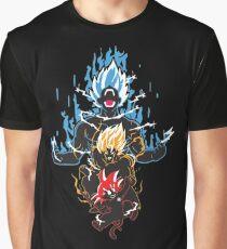 Goku Saiyan Evolution Graphic T-Shirt