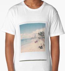 Waikiki Beach Long T-Shirt