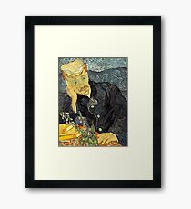 Portrait of Dr. Gachet- Vincent van Gogh Framed Print