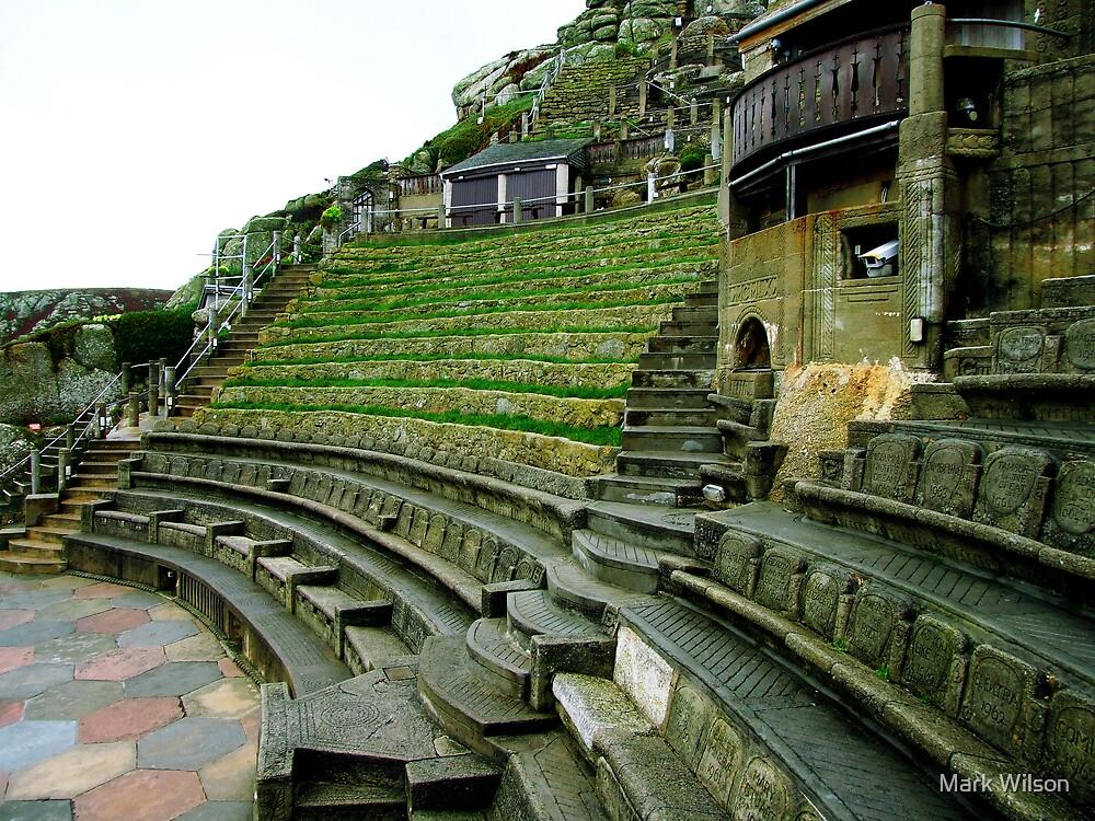 Minack Theatre, Porthcurno by Mark Wilson
