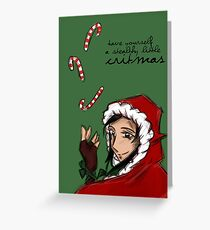 Have Yourself a Stealthy Little Critmas Greeting Card