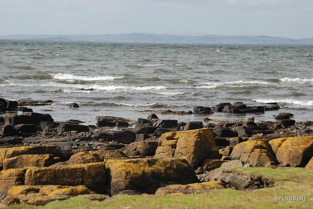 Rocks at Longniddry by briandhay