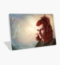 Wild Elf hunter, colour Laptop Skin