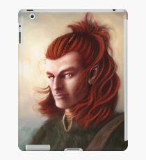 Wild Elf hunter, colour iPad Case/Skin
