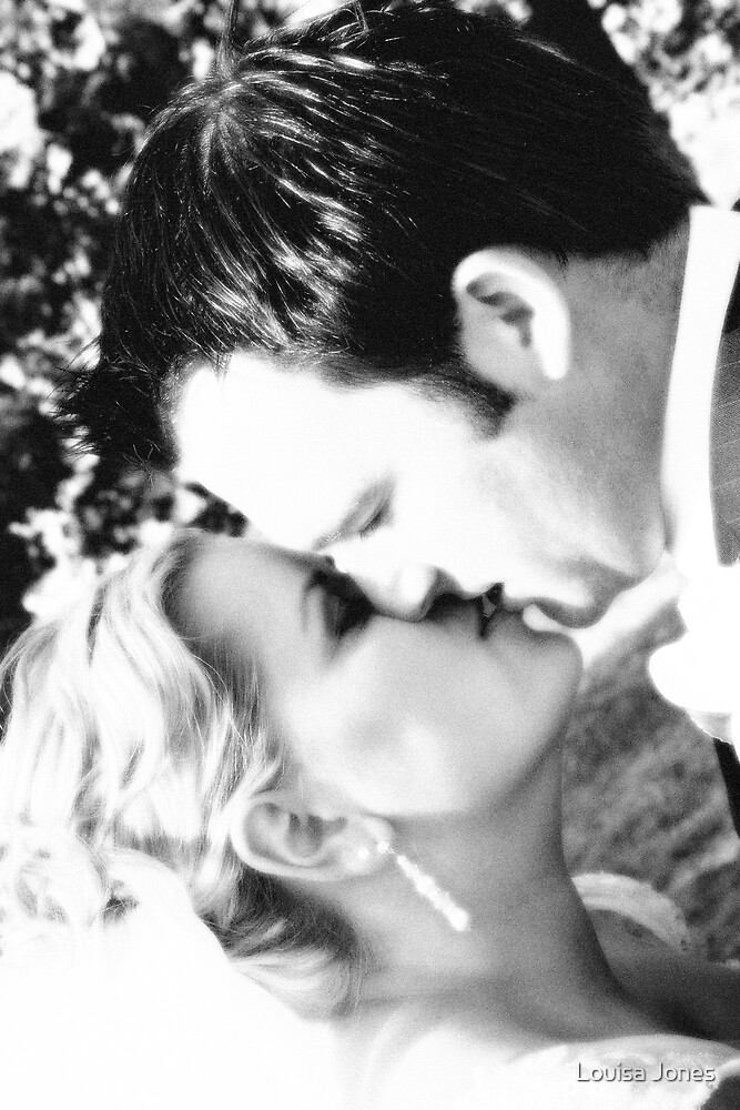 The Kiss by Louisa Jones