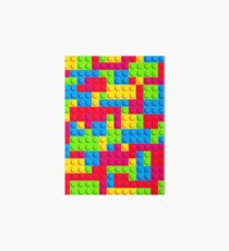 Coloured Bricks Art Board