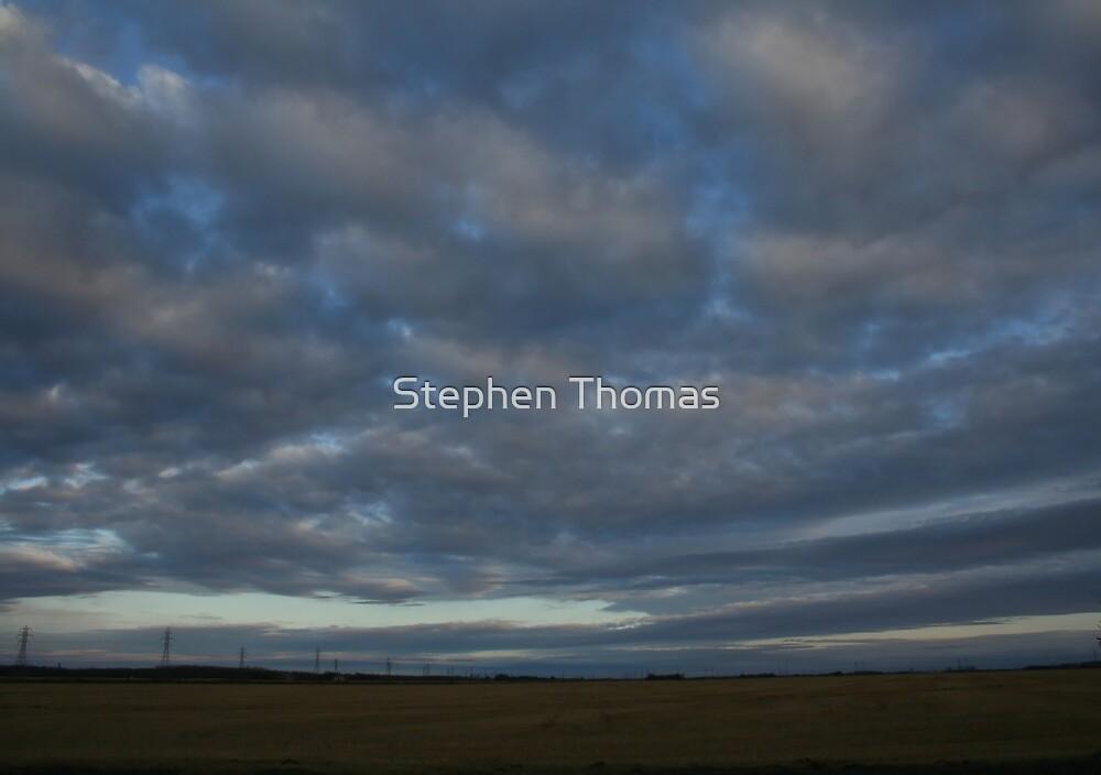 Eastern Evening Sky by Stephen Thomas