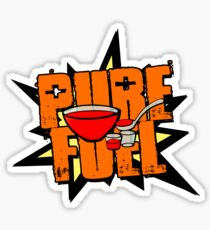 Stranger Things 2 - PURE FUEL! Sticker