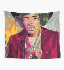 Jimi Hendrix Full Color Wall Tapestry