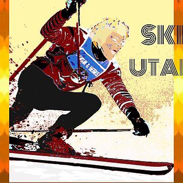 Ski Utah, 70's style by dscottlarson