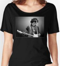 Hendrix & Guitar Women's Relaxed Fit T-Shirt