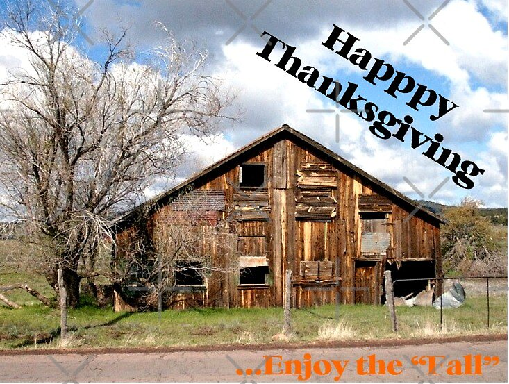 """Thanksgiving in the """"Fall"""" by Kimberly Miller"""