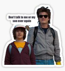 Stranger Things - Dustin and Steve Sticker