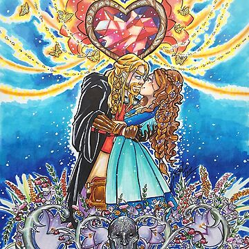 Flower Wedding by Katemcalli