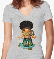 Miss Bling TShirt Women's Fitted V-Neck T-Shirt