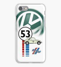 53 VW bug beetle bug iPhone Case/Skin