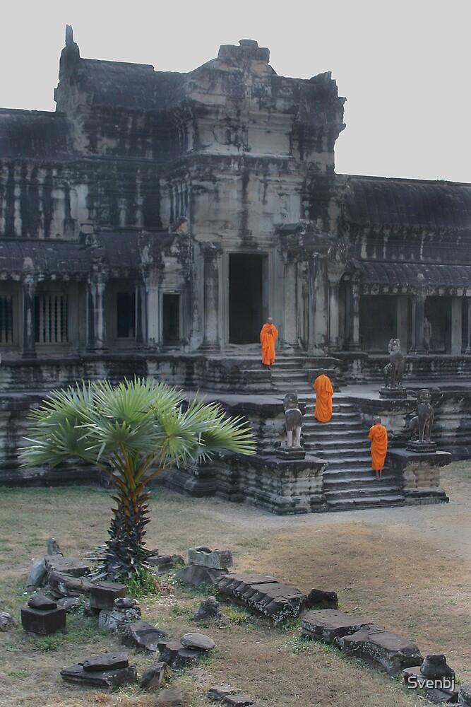 Angkor Wot Monks III by Svenbj