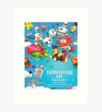 The 91st Macy's Thanksgiving Day Parade 2017 Art Print