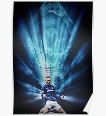 Wayne Rooney (Everton) Poster