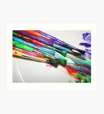 Rainbow of Colour Art Print