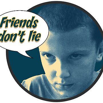 """Friends don't lie"" - Stranger Things by ebnzr"