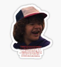 Dustin Grrr - Stranger Things Sticker