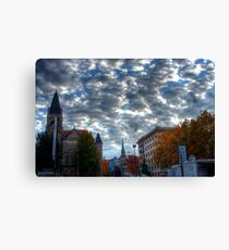 HDR clouds Canvas Print