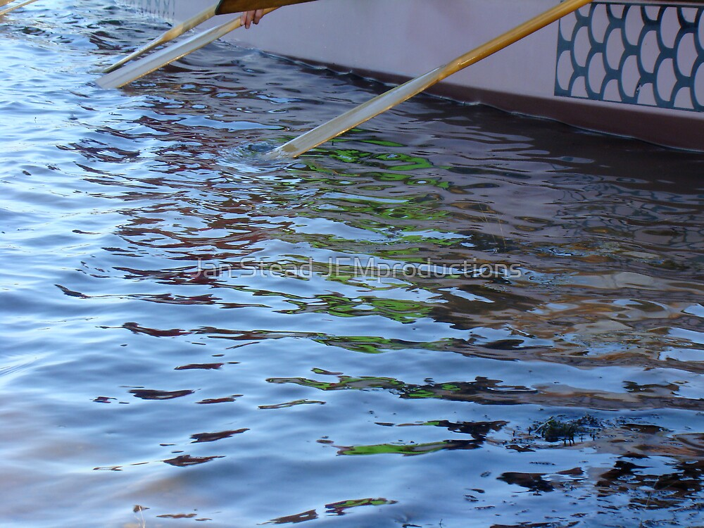 oarsome colours  by Jan Stead JEMproductions