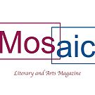 Mosaic two color logo by mosaiczine