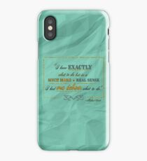 """Michael Scott """"I knew exactly what to do"""" quote iPhone Case/Skin"""