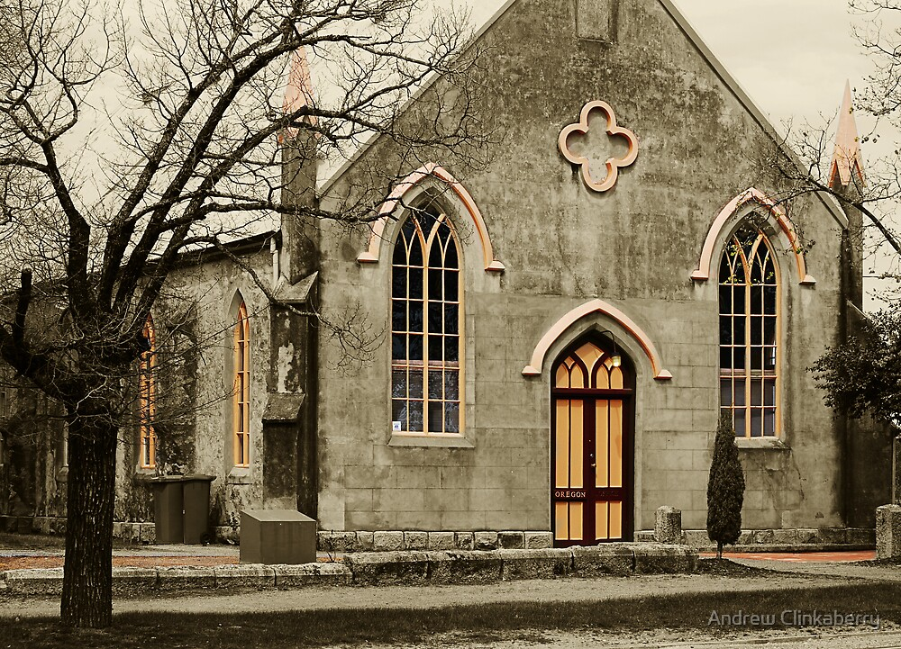 Some Old Building In Beechworth - Version 2 by Andrew Clinkaberry