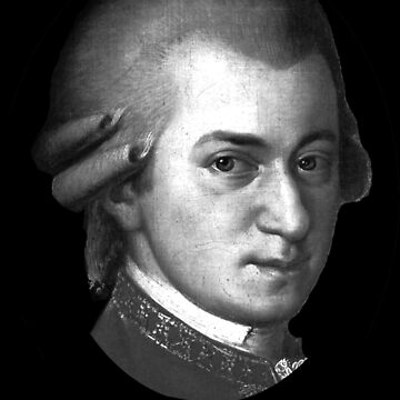 The genius Wolfgang Amadeus Mozart by Thornepalmer