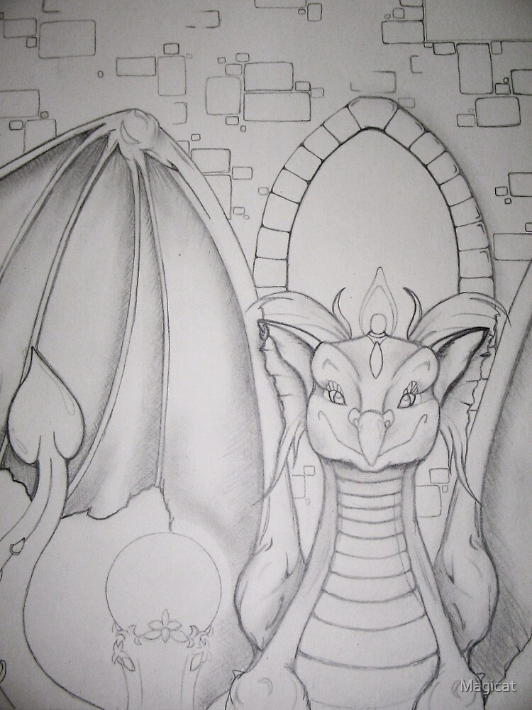 Mystic Dragon by Magicat