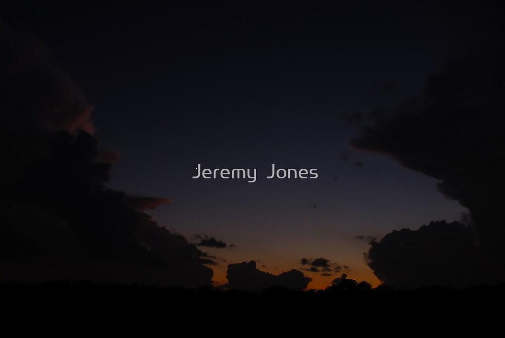A Double Anvil Sunset by Jeremy  Jones