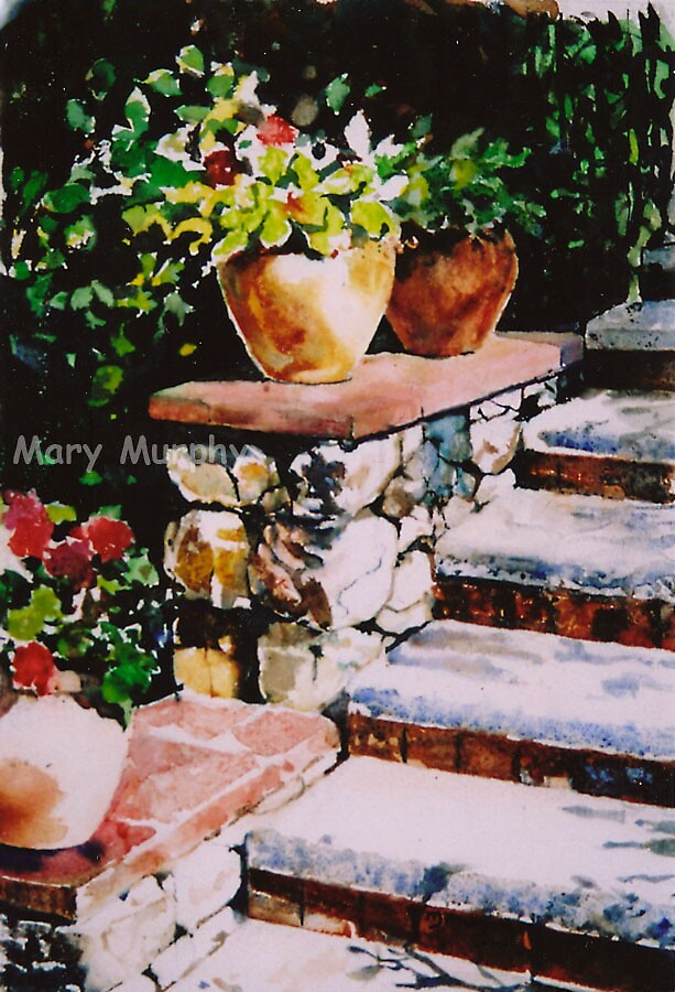 Watercolor 2 by Mary Murphy